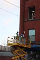 Revitalization project begins as PACA windows arrive