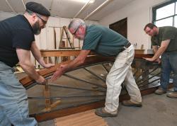 Historic window restoration advances Erie art center's growth
