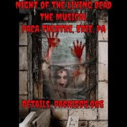 We are pleased to announce our Cast for Night of the Living Dead - The Musical