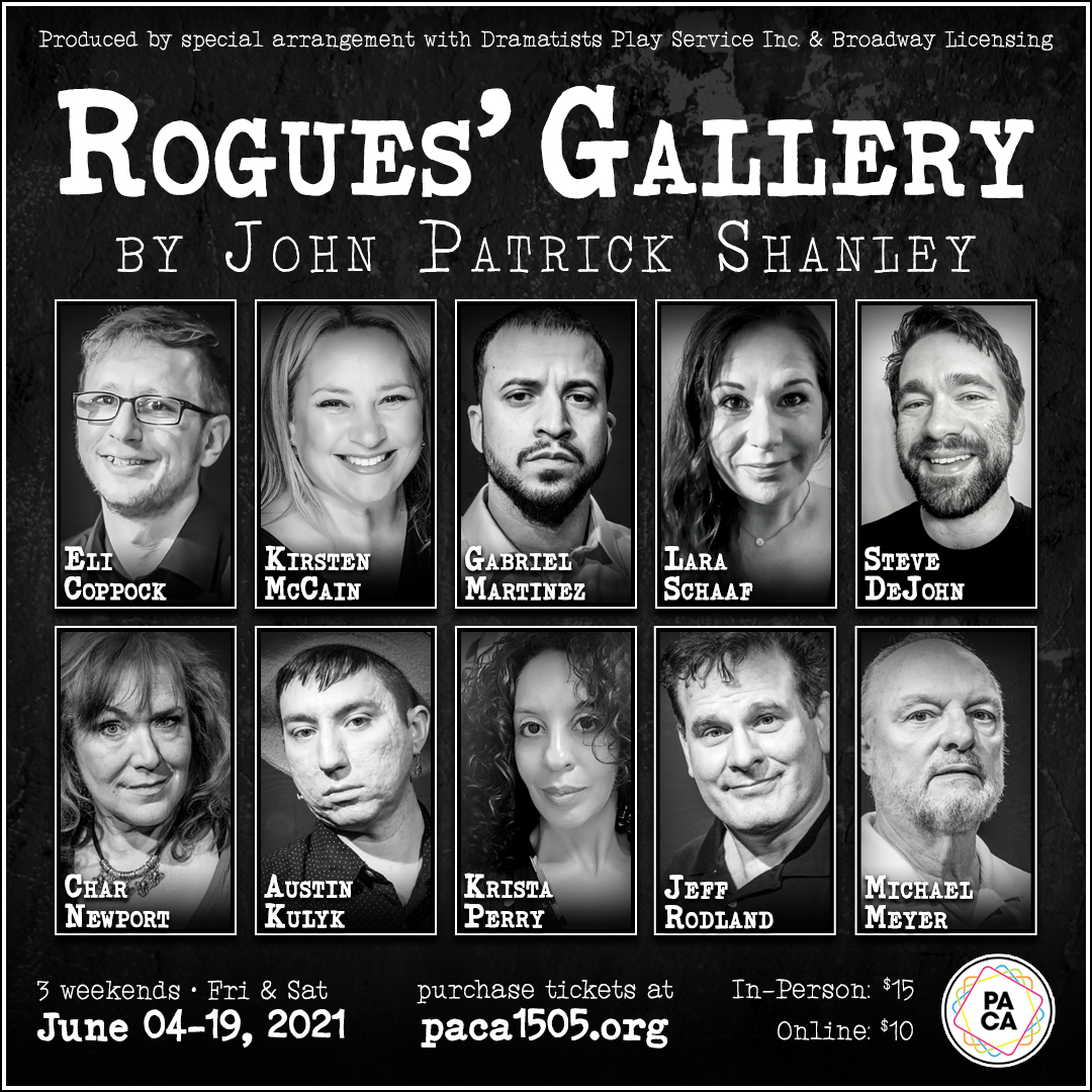 ROGUE'S GALLERY by John Patrick Shanley