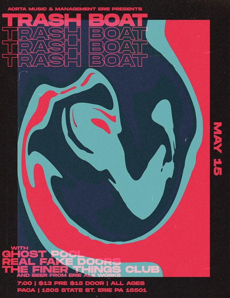 Trash Boat at PACA