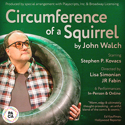CIRCUMFERENCE OF A SQUIRREL by John Walch