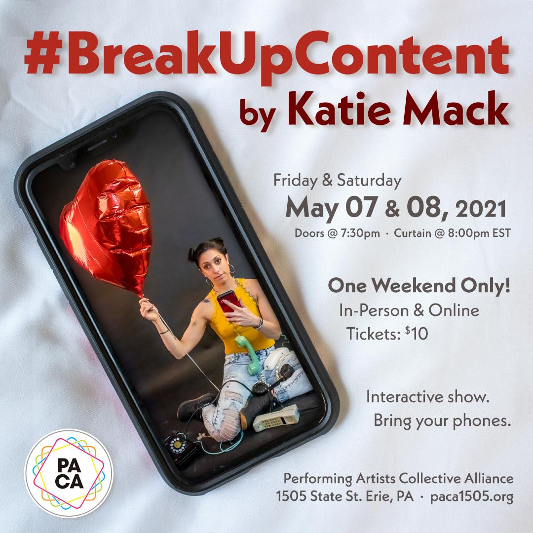 #BreakUpContent by Katie Mack